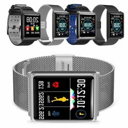 Waterproof Sport Smart Watch Blood Pressure Heart Rate Monit