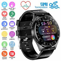Waterproof Sport Smart Watch Heart Rate Monitor Blood Pressu