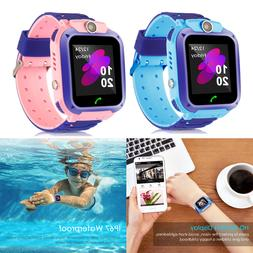 Waterproof Tracker Smart Kids Child Watch Anti-lost SOS Call