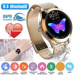 Women&Girl Waterproof Bluetooth Smart Watch Phone Mate For i
