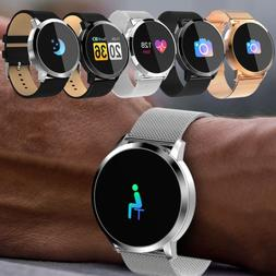 Women Men Bluetooth Smart Watch Phone Mate For Android IOS i