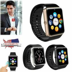 Women Men Smart Watch Unlocked Wristwatch Camera for Samsung