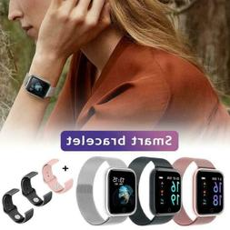 Women men Waterproof Sports T80 Smart Watch Fitness Tracker