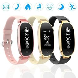 Women Smart Watch band Lady Bracelet Waterproof Sport Heart
