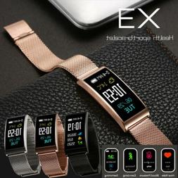 X3 Smart Watch Bracelet Band Fitness Blood Pressure Heart Ra