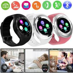 Y1 Waterproof Bluetooth Smart Watch Phone Mate For Android I