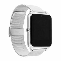 Z60 Metal Smart Bluetooth Watch GSM SIM Card for Android IOS